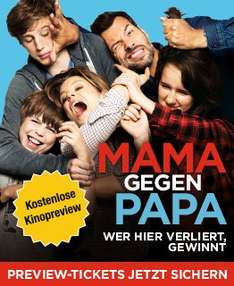 [Kino Preview] Mama gegen Papa am 08.07.2015 (20Uhr)