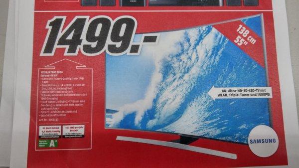 Samsung 55 JU 7590 - Media Markt Weiterstadt - Jubiliäumspreis