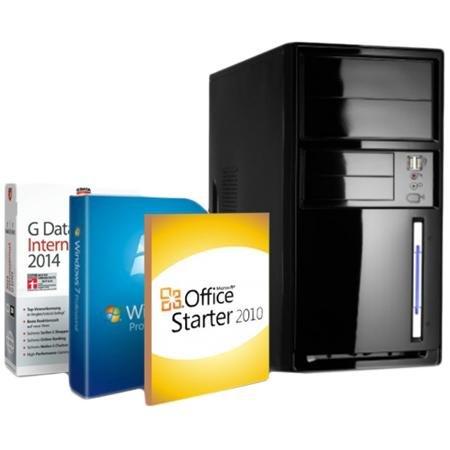 Redcoon Supersale Tages-Angebot Quadcore PC mit Windows 7 Pro für 189€ statt 269€ Versandkostenfrei