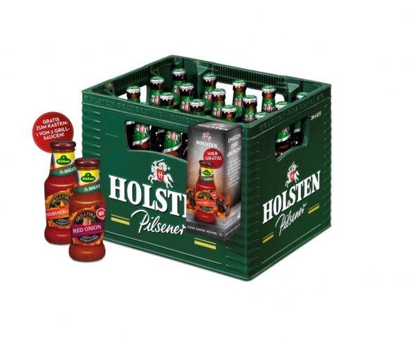 [Lokal@Kaufland BaWü] Kiste Holsten (20x0,5) + Grillsoße für 8,80