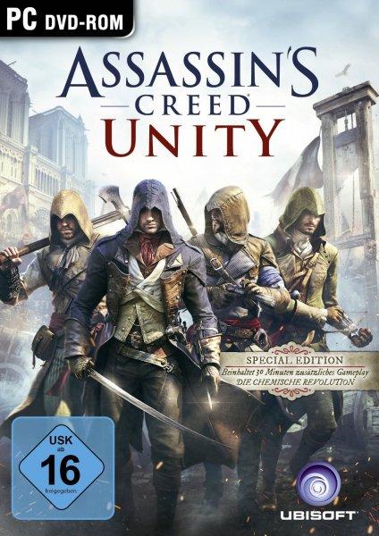 Assassin's Creed Unity - Special Edition [PC] für 13,52 Euro bei Amazon.de