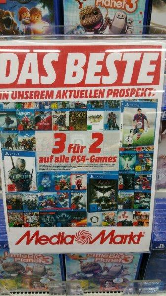 PS4: 3 für 2 MM Berlin Spandau