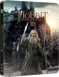 Hobbit, The: The Desolation of Smaug (Blu-ray 3D+Ultraviolet) (Limited Edition Steelbook) für 11,60€ @Wowhd.com