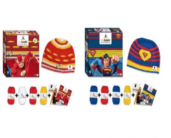 "Myboshi Superhelden Mützen Häkelset ""Superman"" oder ""Flash"" für 9,79€ bzw. 9,84€ bei Amazon (Prime)"
