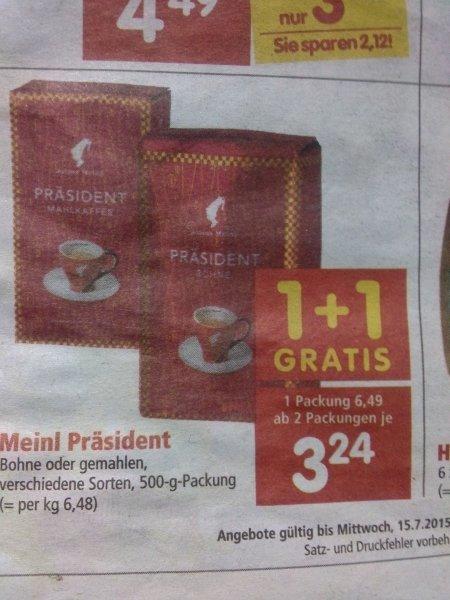 [AUT] Meinl Präsident Kaffee für Vieltrinker