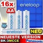 [Allyouneed] 16x Panasonic Eneloop AA BK-3MCCE (neueste Version) + 4x Akkubox für 24,15€