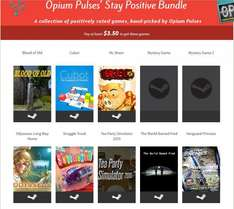 [Steam]Opium Pulses' Stay Positive Bundle @ Flying Bundle inkl.Tea Party Simulator 2015