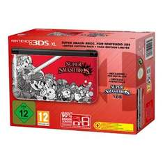 [Real] Nintendo 3DS XL inkl. New Super Mario Bros 2 &  3DS XL Limited Edition mit Super Smash Bros. für je 144€
