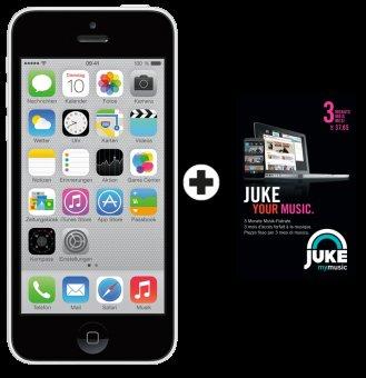 [Schweiz] iPhone 5c + 3 Mon. Juke
