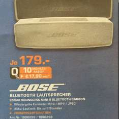 [Lokal?] Bose Soundlink mini II @SATURN Moers