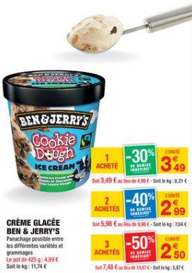 [Grenzgänger FR] Carrefour-Market - Ben & Jerrys für 2,50€
