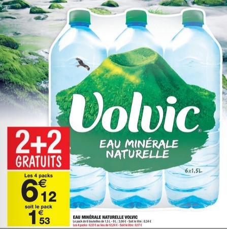 [Grenzgänger Frankreich] 24 x 1,5 Liter für 6,12€ = 6er Pack für 1,53€