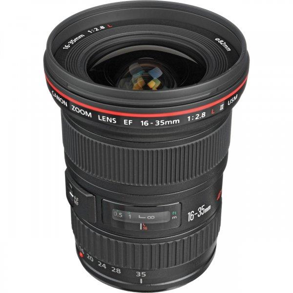 Canon EF 16-35 1:2.8L II USM Weitwinkel-Zoomobjektiv, versandkostenfrei für 1.159,00 €, @ZackZack