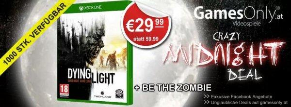 Dying light für Xbox One für 35.98 inkl. Versand @ Gamesonly.at