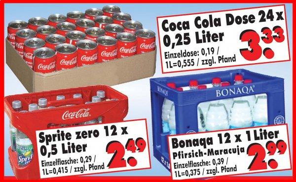 [Lokal Nordhessen] Coca Cola Dosen 24x0,25l