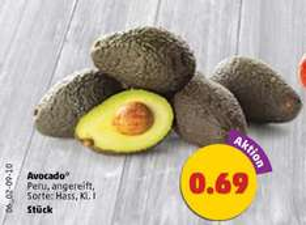 [Bundesweit] Avocado, Sorte Hass für 69ct bei Penny