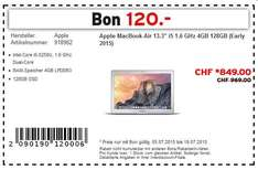 "[SCHWEIZ] Apple MacBook Air 13"" 2015 (MJVE2SM/A) 811€, idealo 919€"