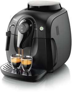 @Amazon: Philips HD8651/01 Kaffeevollautomat Dampfdüse, 15 bar, schwarz  für 254 Euro / Idealo ab289€