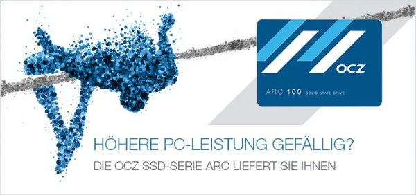 ARC100    MLC-SSD mit 480GB für EUR 159.- bei Reichelt