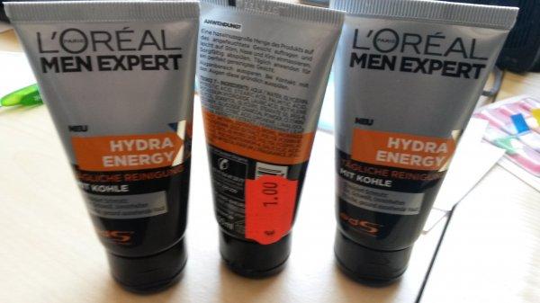 [Rewe Taunusstein-Hahn] L'Oréal Men Expert Hydra Energy Waschgel mit Kohle, 50ml für 1€