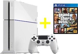 GTA V PS4 - 39€ und PS4 in WEIß + 2. Controller + GTA  V für 399€ [Saturn Berlin]