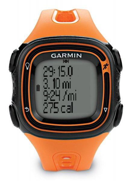 Garmin Forerunner 10 Laufuhr orange/schwarz für 74,93 € @Amazon.fr