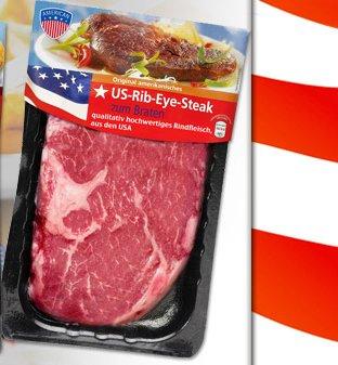 [SHOPWINGS MUC/ evtl. BER] US-Rib-Eye-Steak 340g für 19,97€/kg