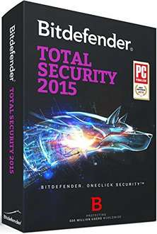 Bitdefender Total Security 2015 - 6 Monate