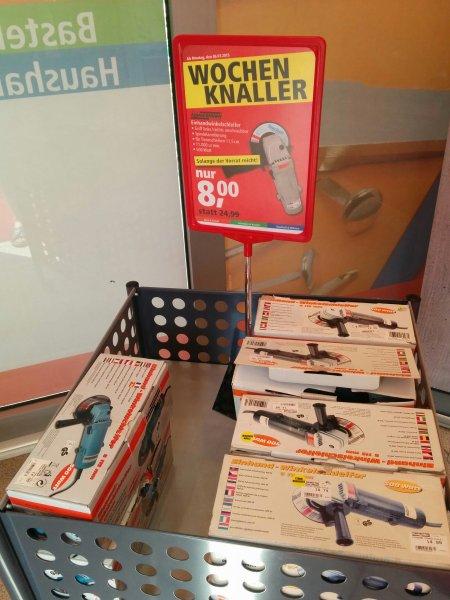 [Lokal Pfennigpfeiffer][Dresden?] Mannesmann Einhandwinkelschleifer für 8.00€