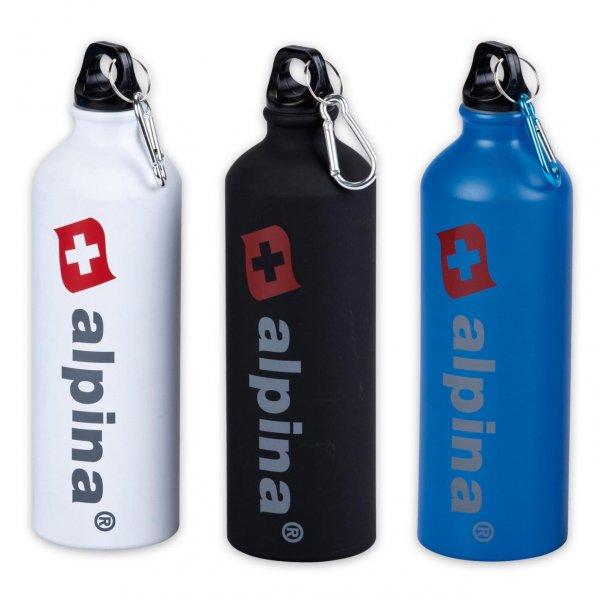 [PICKS RAUS] Alpina Aluminiumtrinkflasche 0,75l mit Karabinerhaken (Idealo:9,95€)