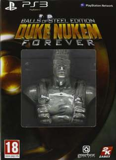 @Amazon: Duke Nukem Forever (PlayStation 3) Balls of Steel Edition für 12,48 € + Versandkosten (5,00 Euro FSK 18) / Ideal 29,99 €