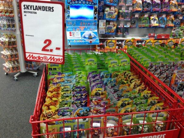 Media Markt Bayreuth Skylanders Figuren ab 2€