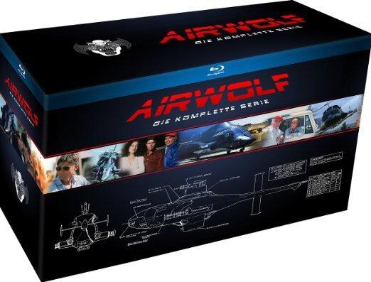 (Buecher.de) Airwolf - Die komplette Serie (18 Blu-Rays) für 82,99 EUR / oder 21 DVDs für 58,99 EUR