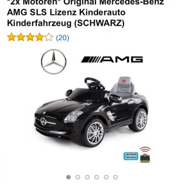 Mercedes Bens SLS Amg Kinderfahrzeug