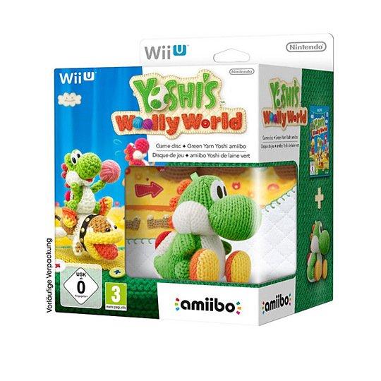 "[Real] Wii U ""Yoshi's Woolly World"" Special Edition + Amiibo ""Grüner Woll-Yoshi"" für 59,90€ + 10fach Paybackpunkte"