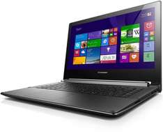 Amazon WHD - Lenovo Flex 14D 35,5 cm (14 Zoll HD LED) Convertible Notebook (AMD E1-2100, 1,0 GHz, 4GB RAM PC3 DDR3L, 500GB HDD, ATI Sun Pro8570 DDR3 1GB, Touchscreen, Win 8.1) schwarz