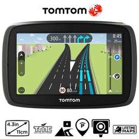 TomTom Start 40 Europa Navigationsgerät 4,3 Zoll Lifetime Maps, 84,85 EUR @ eltronics