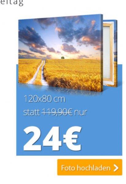 Toppreis Leinwanddruck 120x80cm für 24.- . +Versand *Preisersparniss ca 50% Achtung nur bis Freitag