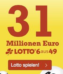 1 Feld kostenlos für Lottohelden Neukunden - 31 Mio Euro Zwangsausschüttung