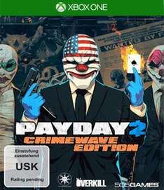 Payday 2 Crimewave Edition Xbox One 38,18€ @ Simply Games