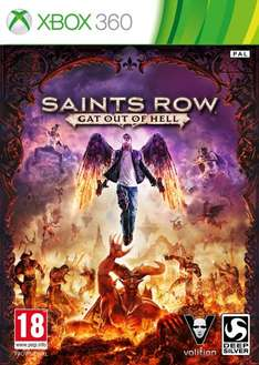 [PS3/Xbox360] Saints Row IV: Gat out of Hell für 13,96 EUR @ Amazon.fr
