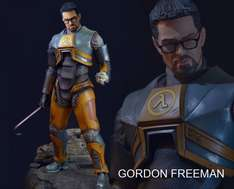 (Game Legends) Half Life 2 Statue Dr. Gordon Freeman 50cm