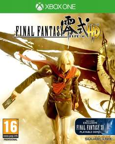 [Amazon.co.uk] Final Fantasy: Type-0 HD (Xbox One) - komplett in deutsch spielbar - für 21,20€