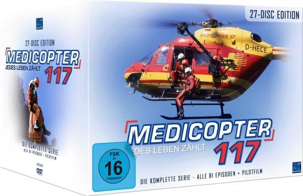 Medicopter 117 - Jedes Leben zählt, Gesamtedition mit 27 DVD´s für 59,00 €, @Saturn