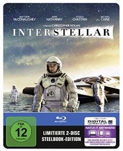 Interstellar Steelbook (2 Disc Bluray) @Amazon (PRIME)