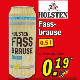 [ZIMMERMANN] KW29 Holsten Fassbrause 0,5l für 0,19€ (Nur am 15.07.2015)