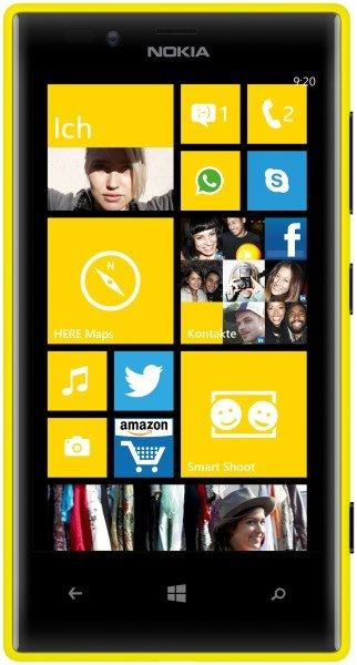 [getgoods.de] Nokia Lumia 720 Yellow EU