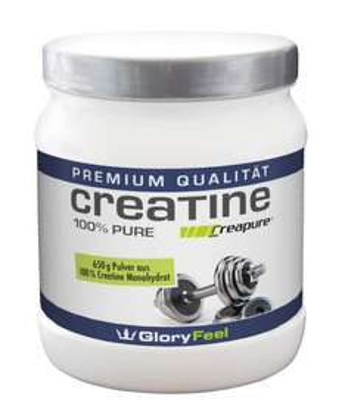 [Prime] Creatin Monohydrat Pulver, 650 Gramm, 100% Rabatt!