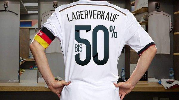 DFB Fanshop Lagerverkauf bis zu 50% Rabatt