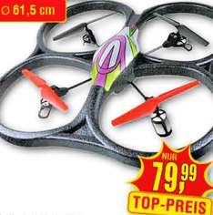 Quadrocopter WLtoys V262 UFO XXL Drohne MIT HD-KAMERA für nur 79,99€ bei Centershop (lokal)